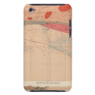 Detailed Geology Sheet XXIX iPod Touch Cases