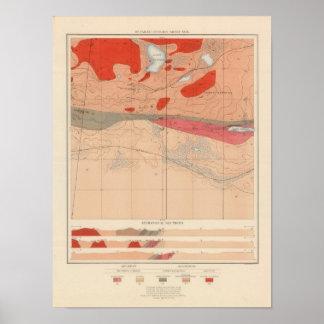 Detailed Geology Sheet XXIX Poster