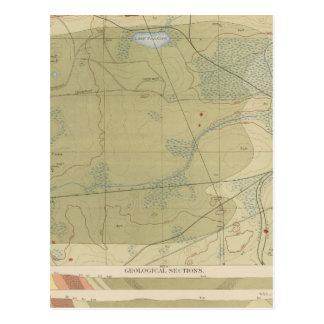Detailed Geology Sheet XXV Postcards