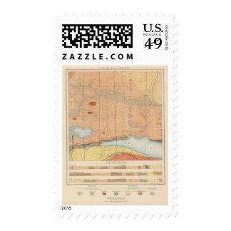 Detailed Geology Sheet XXVII Postage Stamp