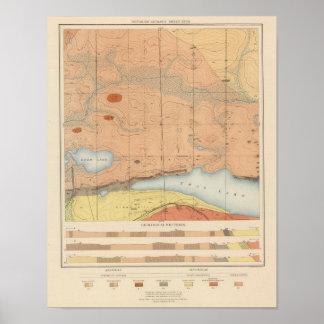 Detailed Geology Sheet XXVII Poster