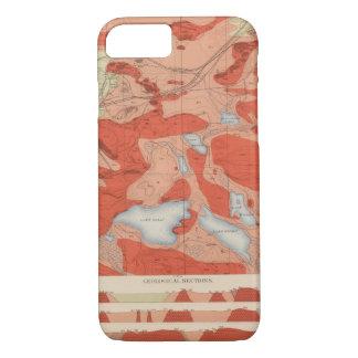 Detailed Geology Sheet XXVIII iPhone 7 Case