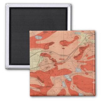 Detailed Geology Sheet XXVIII Fridge Magnets