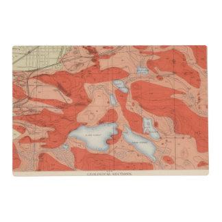 Detailed Geology Sheet XXVIII Placemat