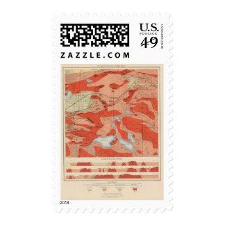 Detailed Geology Sheet XXVIII Stamp