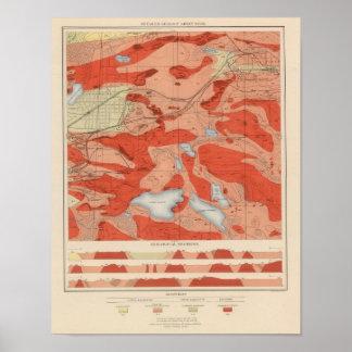 Detailed Geology Sheet XXVIII Poster