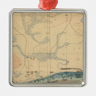 Detailed Geology Sheet XXX Metal Ornament