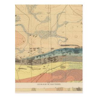 Detailed Geology Sheet XXX Postcard