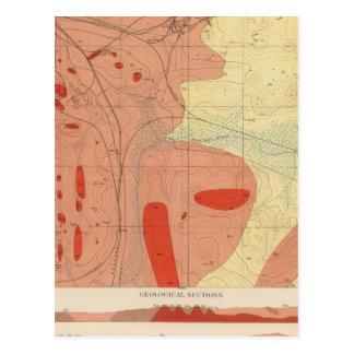 Detailed Geology Sheet XXXI Post Card
