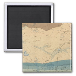 Detailed Geology Sheet XXXIII 2 Inch Square Magnet