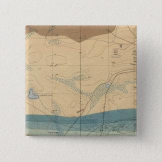 Detailed Geology Sheet XXXIII Pinback Button