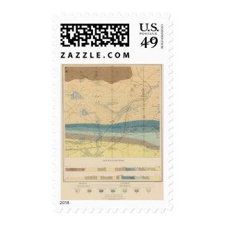 Detailed Geology Sheet XXXIII Postage Stamp