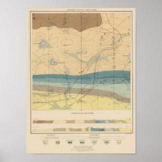 Detailed Geology Sheet XXXIII Poster
