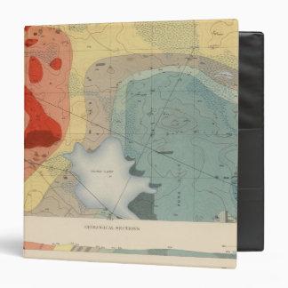 Detailed Geology Sheet XXXIV 3 Ring Binder
