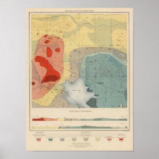 Detailed Geology Sheet XXXIV Poster