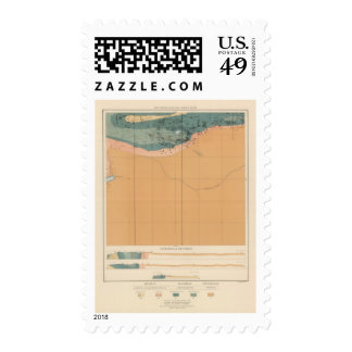 Detailed Geology Sheet XXXIX Postage Stamp