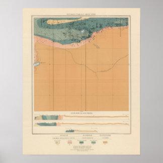 Detailed Geology Sheet XXXIX Poster
