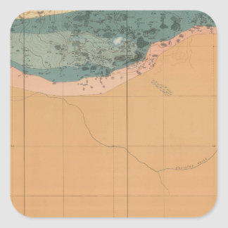 Detailed Geology Sheet XXXIX Square Sticker