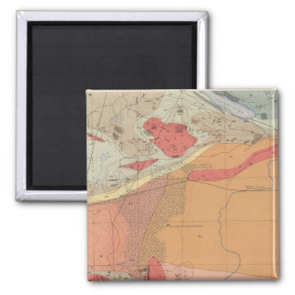 Detailed Geology Sheet XXXV 2 Inch Square Magnet