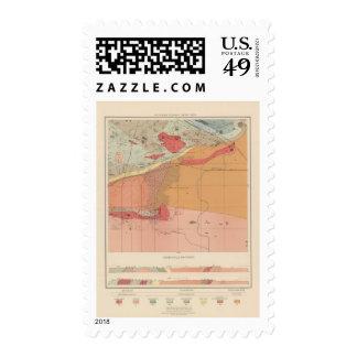 Detailed Geology Sheet XXXV Stamp