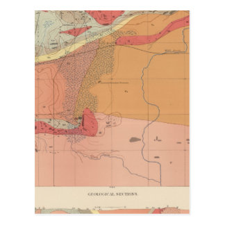Detailed Geology Sheet XXXV Postcard