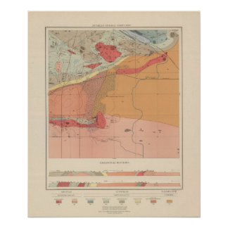 Detailed Geology Sheet XXXV Poster