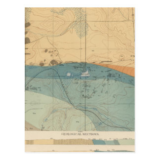 Detailed Geology Sheet XXXVI Postcard