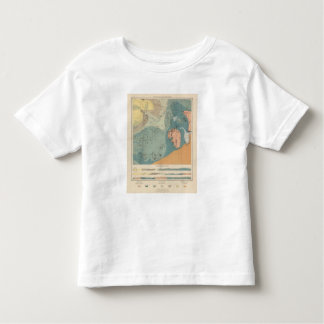 Detailed Geology Sheet XXXVII Toddler T-shirt