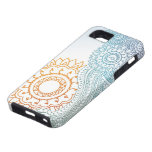 Detailed henna abstract sunrise iPhone 5 case