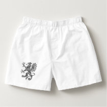 Detailed Heraldry Griffin for Adults to Color Boxers