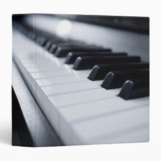 Detailed Piano Keys Binder