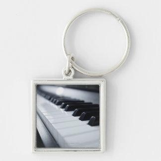 Detailed Piano Keys Key Chains