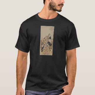 Detailed Portrait of a Samurai circa 1700s T-Shirt