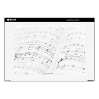 Detailed Sheet Music 3 Laptop Skins