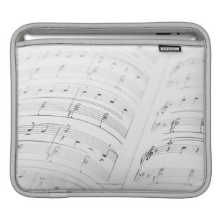 Detailed Sheet Music 3 Sleeve For iPads