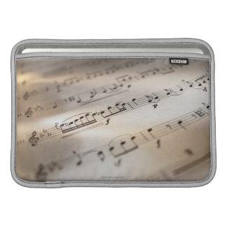 Detailed Sheet Music MacBook Air Sleeve