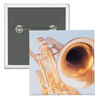 Detailed Trumpet 2 Pinback Button