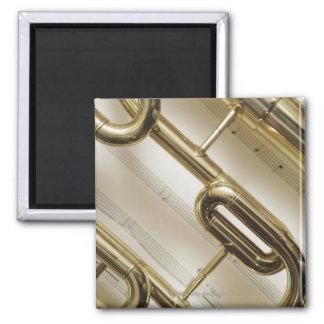 Detailed Trumpet Magnet
