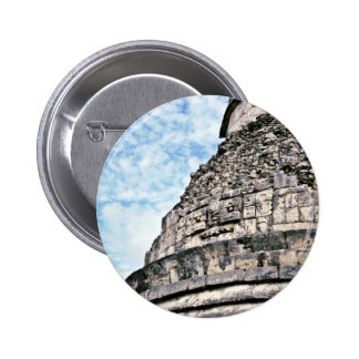 Detailed View Of El Caracol, Chichen Itza Button