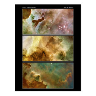 Detailed View of the Carina Nebula NGC 3372 Post Cards