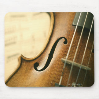 Detailed Violin Mouse Pad
