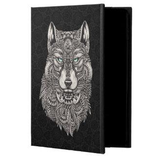 Detailed Wild Wolf Head Illustration Powis iPad Air 2 Case