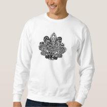 Detailed zendoodle Lotus Sweatshirt