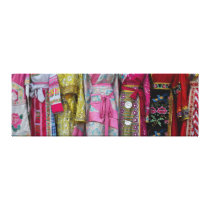 Details and Patterns of some of the Dresses Canvas Print