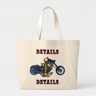 Details, Details... Large Tote Bag