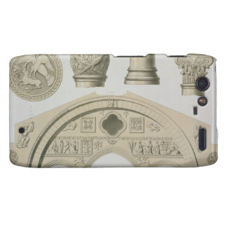 Details of a sculptured arch and columns from St. Droid RAZR Cover