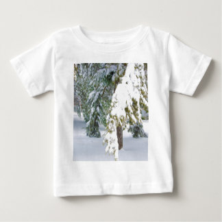 Details of heavy snow fall baby T-Shirt