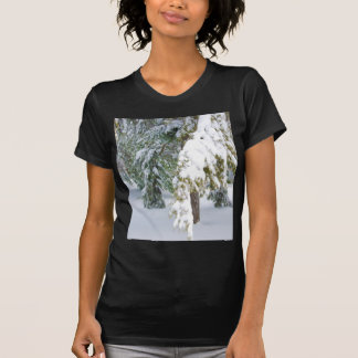 Details of heavy snow fall T-Shirt