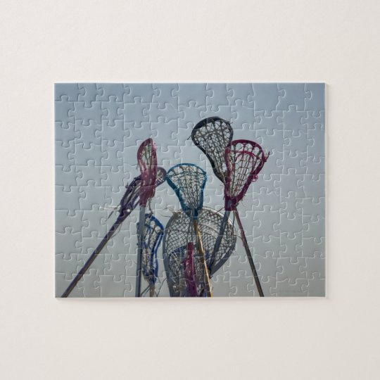 Details of Lacrosse game Jigsaw Puzzle