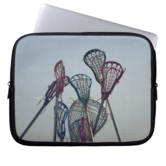 Details of Lacrosse game Computer Sleeve
